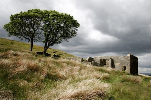 Top Withens, Haworth (off of which the location of Wuthering Heights is based)