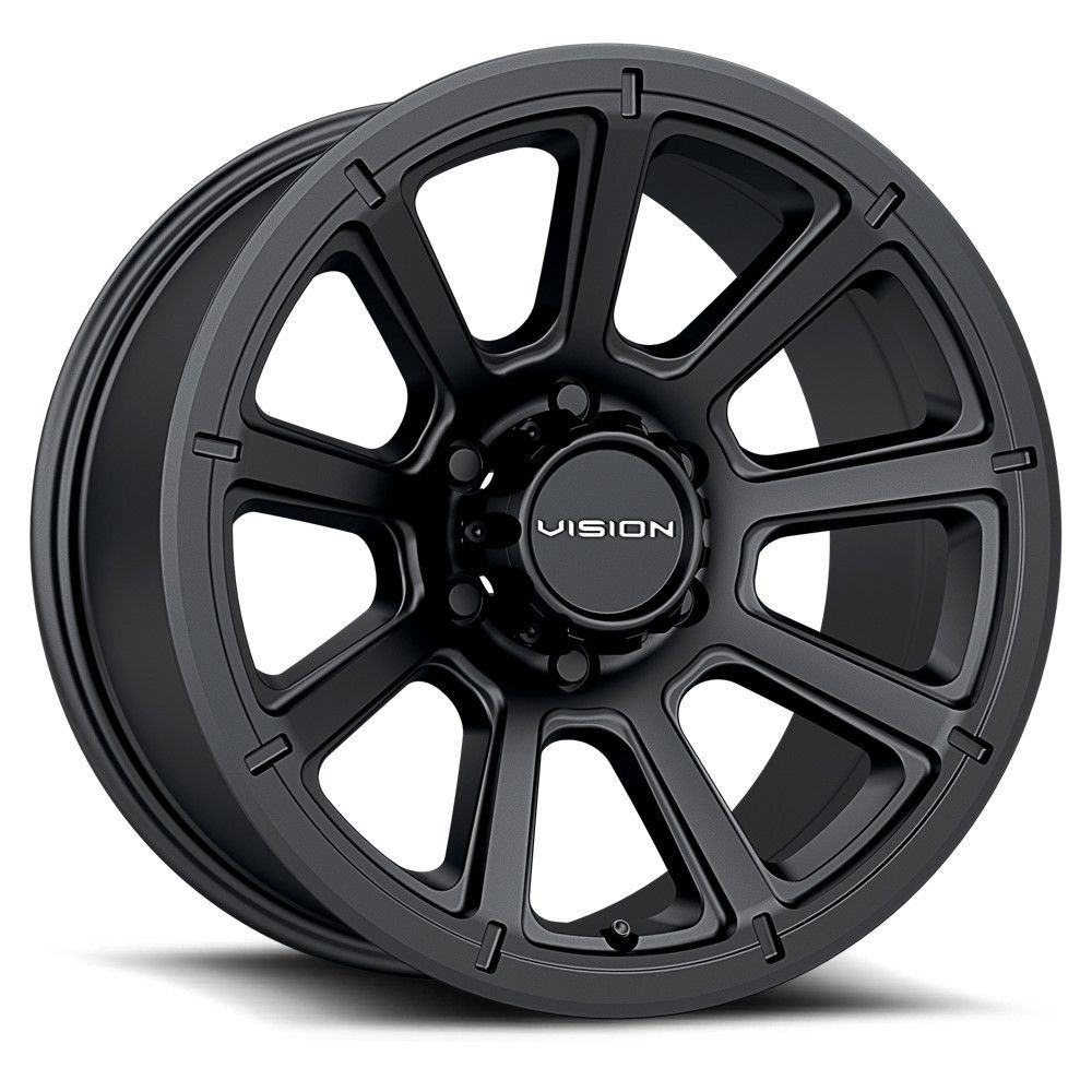 17 Vision 353 Turbine Black Wheel 17x8 5 6x5 5 18mm Chevy Tahoe Gmc 6 Lug Truck Visionoffroad Wheel Rims Black Wheels Custom Wheels And Tires