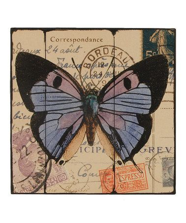 Take a look at this Blue Butterfly Wall Art by Young's on #zulily today!