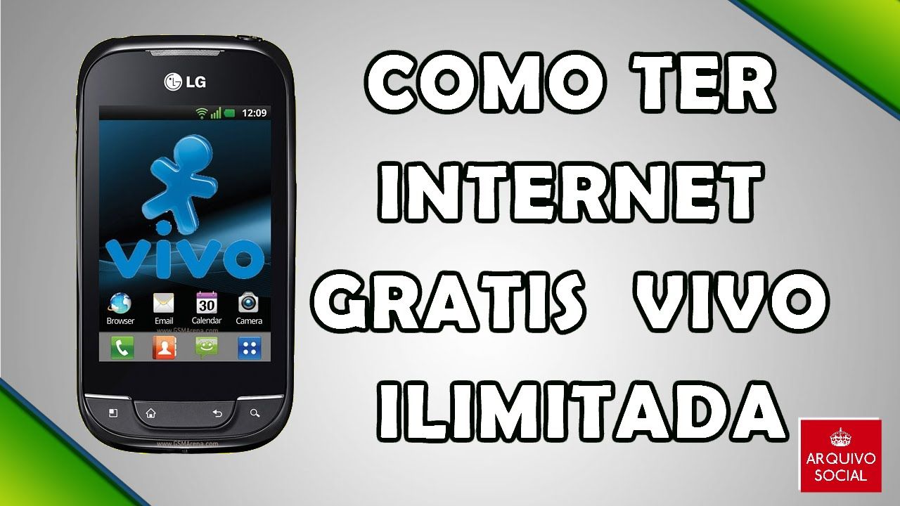 Nice Como Ter Internet Gratis Da Vivo No Android App Modificado