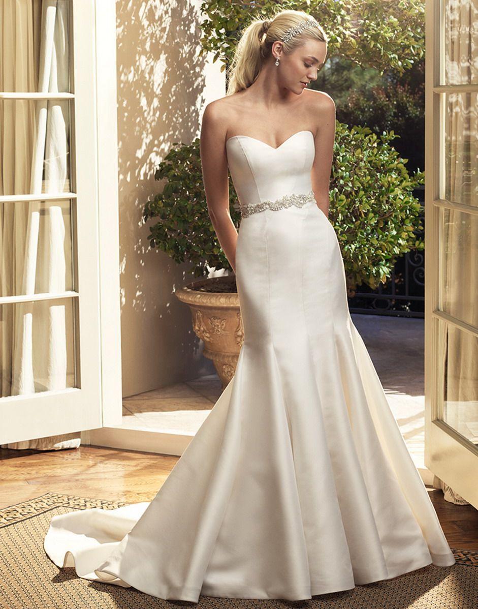 Casablanca Bridal Gown Style - 2223 | Wedding Love | Pinterest ...