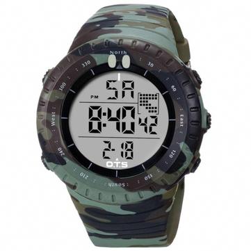 faee484ead5 OTS 7005 Fashion Men Digital Watch Camouflage Strap LED Swimming Sport  Watch  digitalwatchforwomen