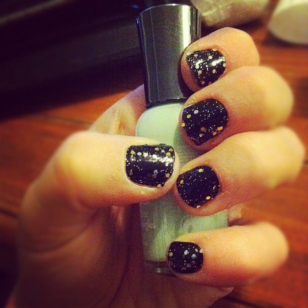 I love Sally Hansen nail strips