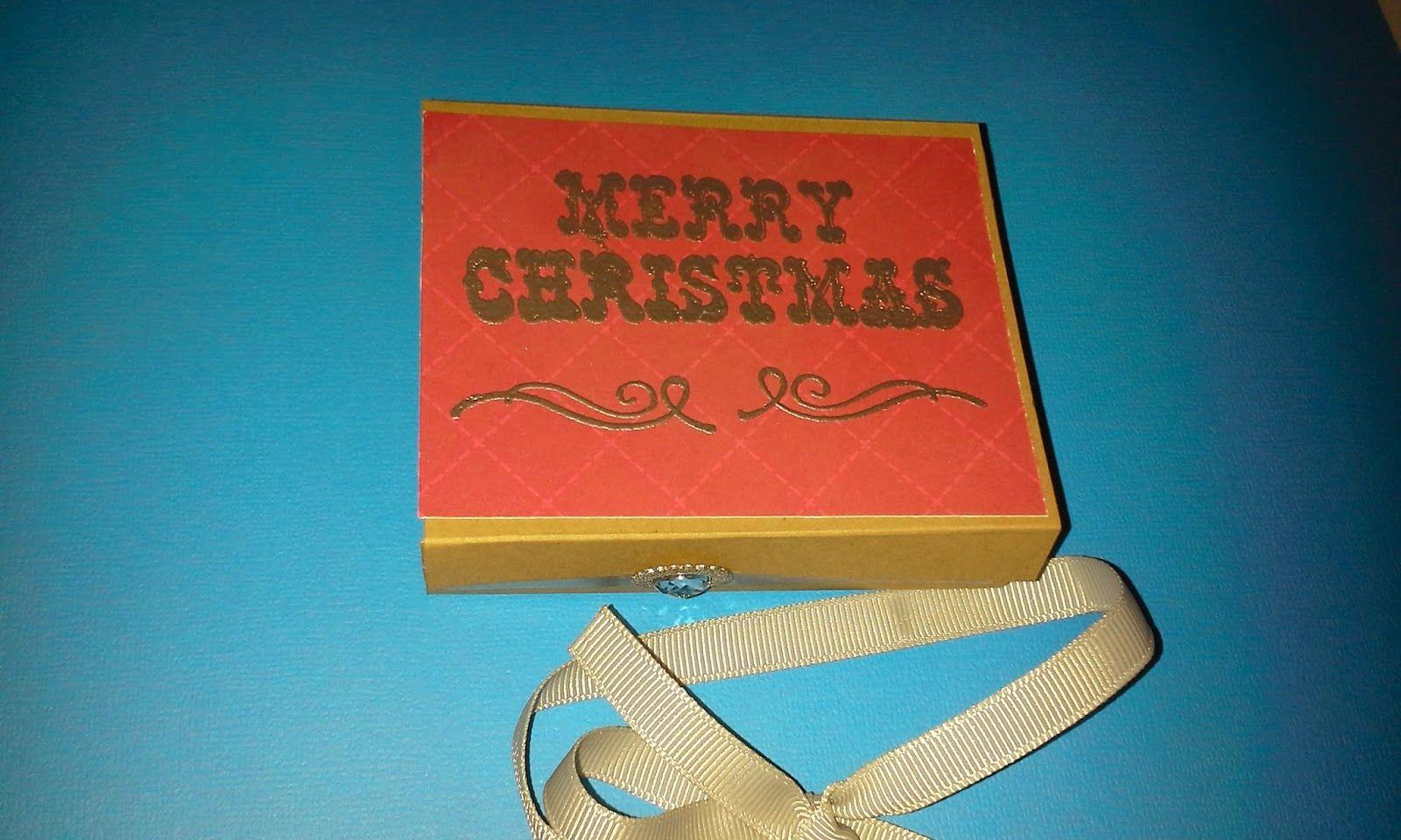 samantha  designs: Gift Card Box