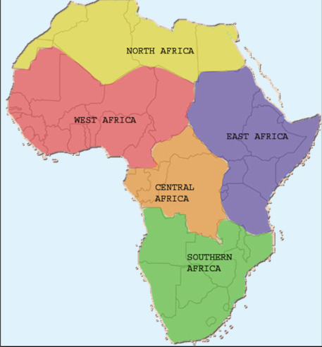 modern day africa map Pin By Jada On Africa 500 Book Projects Africa East Africa modern day africa map