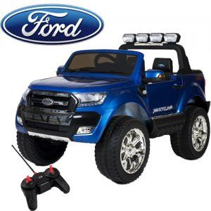 Licensed 24v 2 Seat Blue 4wd 2020 Ford Ranger Jeep With Remote Ford Ranger 2020 Ford Ranger Ford Ranger Wildtrak 2017