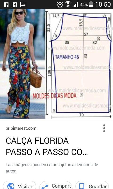 Pin de Daia S en Costura ✂ | Pinterest | Costura, Patrones y Molde