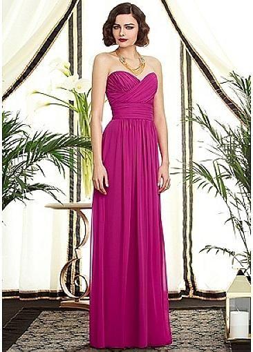 Alluring Chiffon Sweetheart Neckline Natural Waistline Floor-length A-line Bridesmaid Dress  109.99