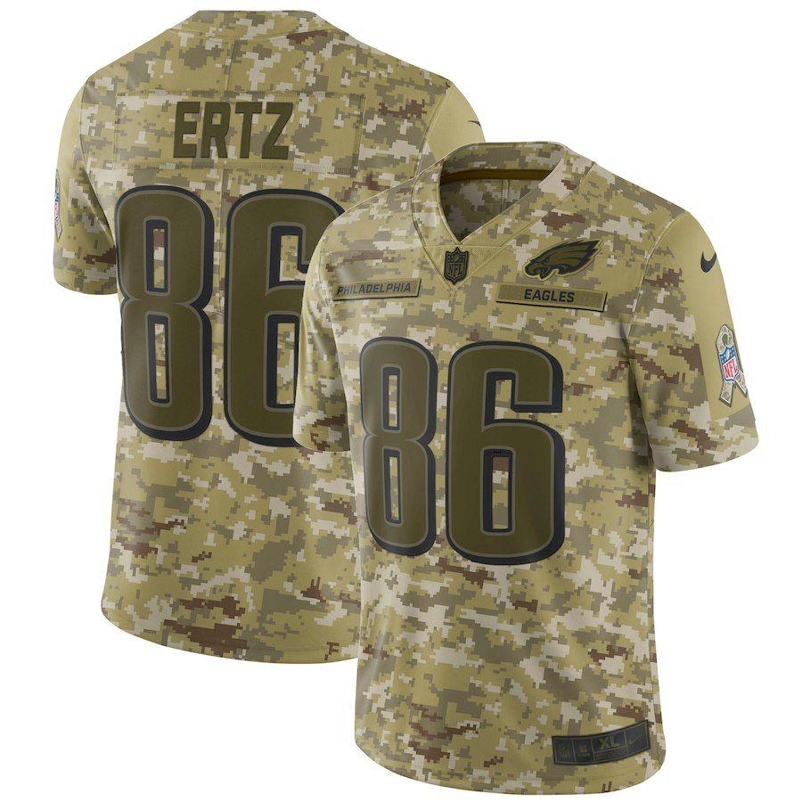 Zach Ertz Philadelphia Eagles Nike Salute to Service Limited Jersey – Camo 148a9816c