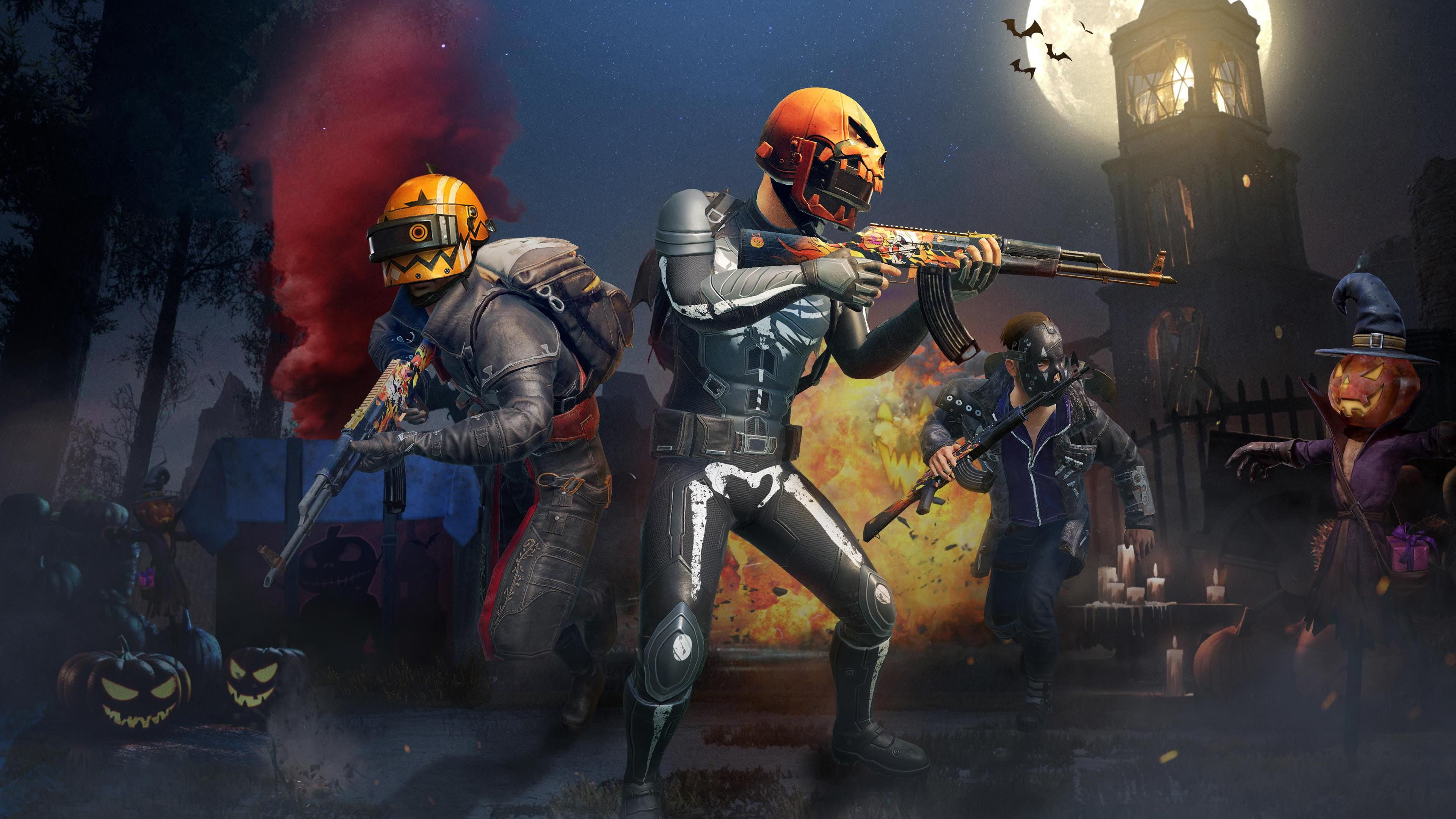 PUBG MOBILE Gets Spooky With Halloween Update & Night Mode