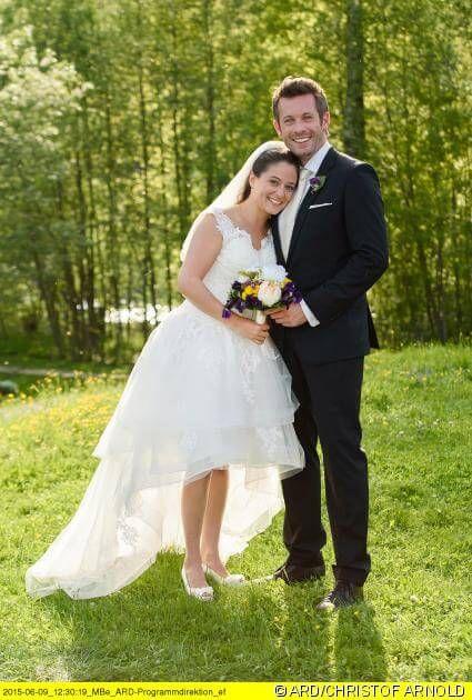 Julia Und Niklas Sturm Der Liebe Braut Hochzeit
