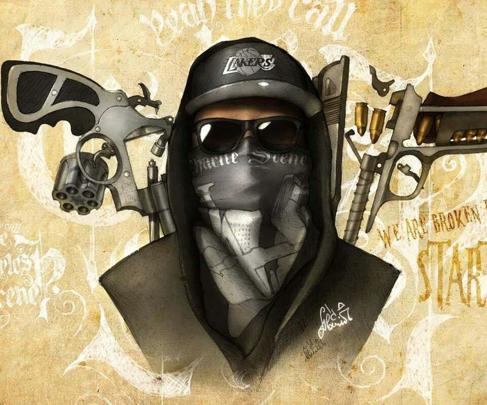 Artwork Charlie Scene Notes From The Underground Hollywood Undead Wallpapers 74940