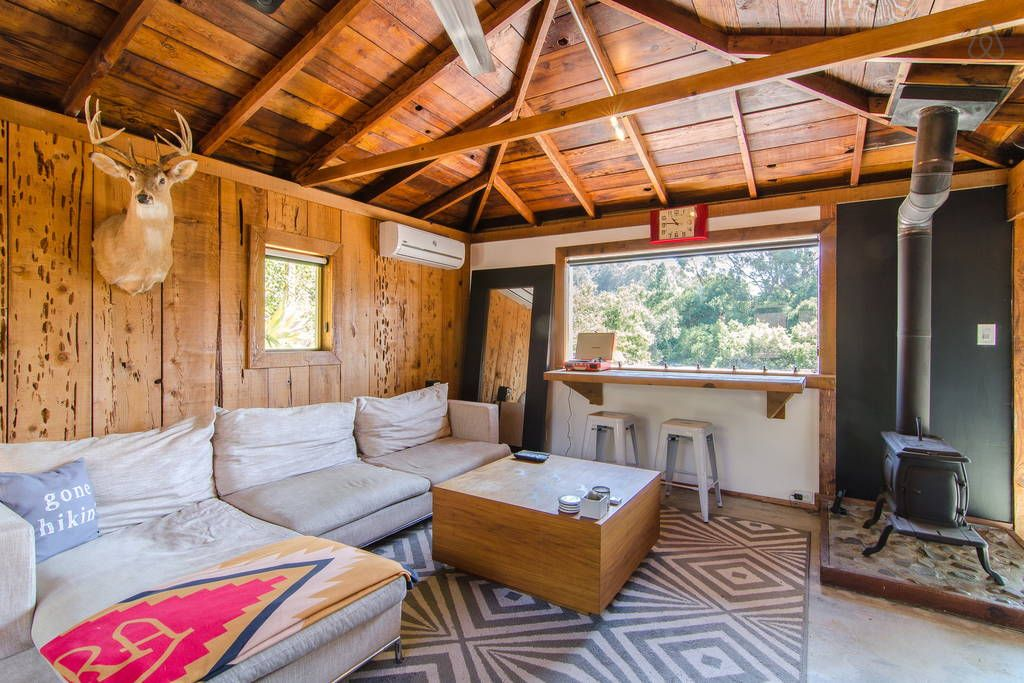 Check Out This Awesome Listing On Airbnb Topanga Cabin