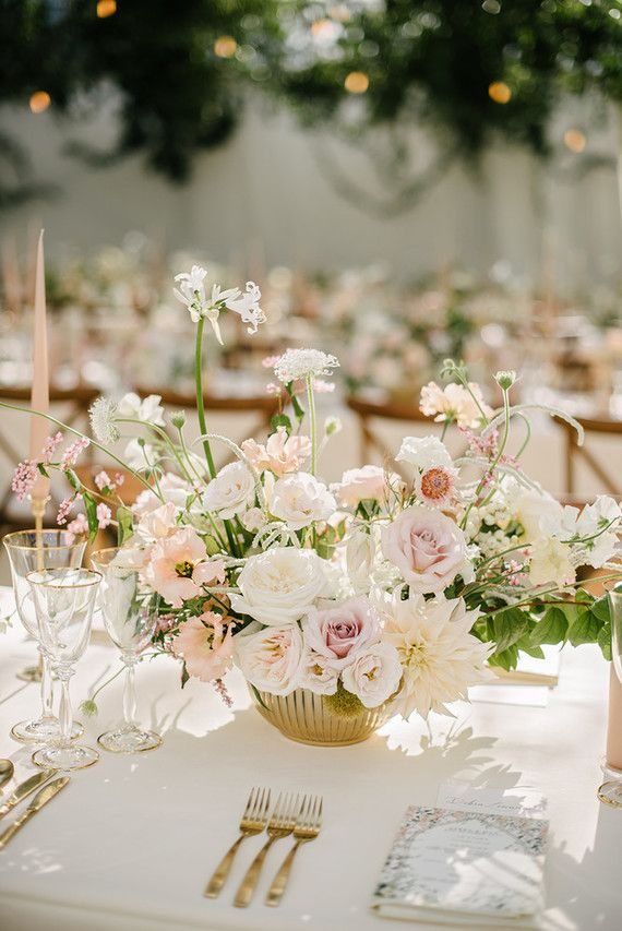 Elegant floral wedding at Sezincote in the Cotswolds, England (100 Layer Cake)