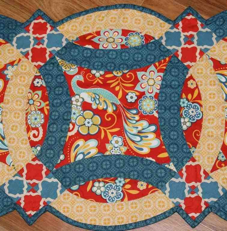 Easy Double Wedding Ring Quilt Pattern | double wedding ring quilt ... : double wedding quilt pattern - Adamdwight.com