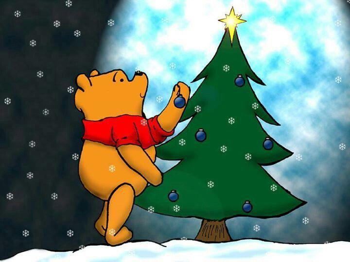 Winnie the Pooh who Christmas Beauty !!! Pinterest