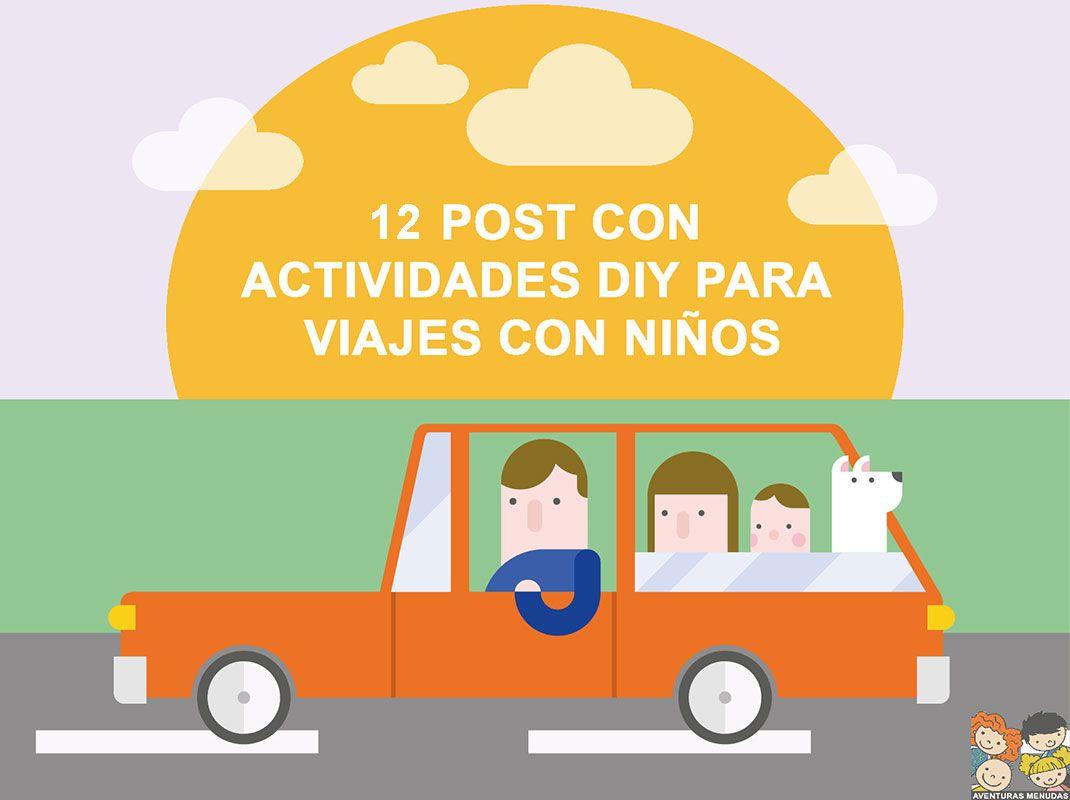 12 Posts con Actividades DIY para Viajes