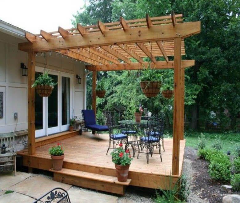 Attached Pergolas to Expand Outdoor Living Space   Outdoor ... on Attached Outdoor Living Spaces id=98706