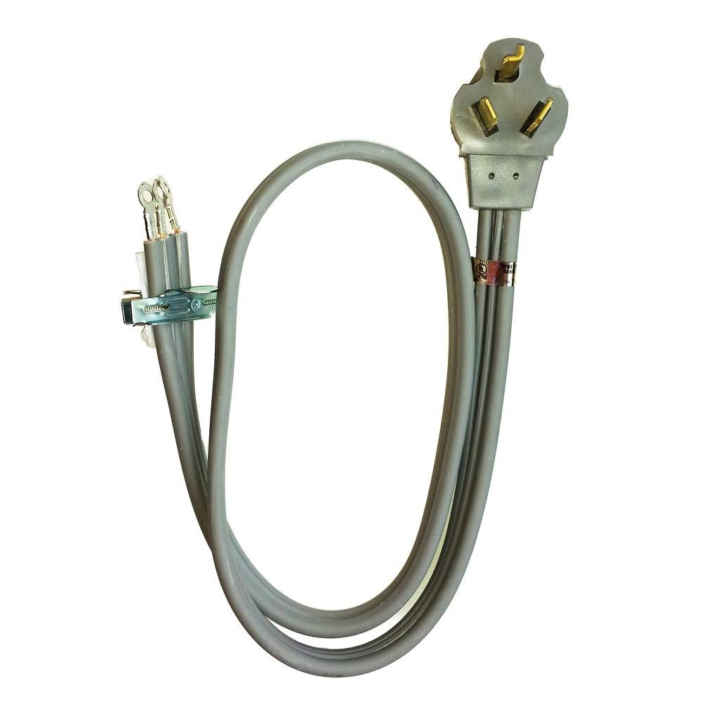 Whirlpool 4 Ft 3 Wire 30 Amp Dryer Cord Pt220l Dryer Plug Dryer Outlet Dryer