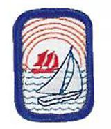Retired Sailing Ip Merit Badge Cadette Badges Badge