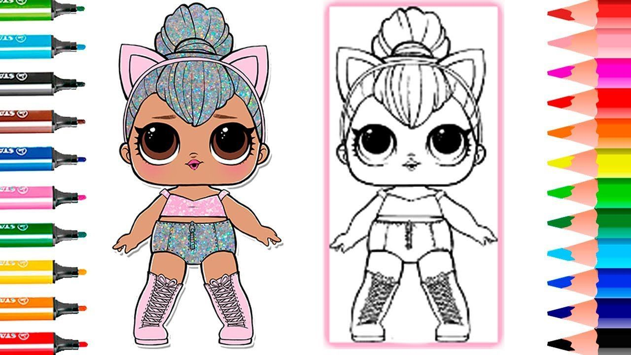 Lol Doll Coloring Pages Sugar Queen di 2020