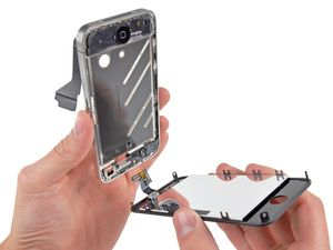 Change the front glass on your iPhone4.