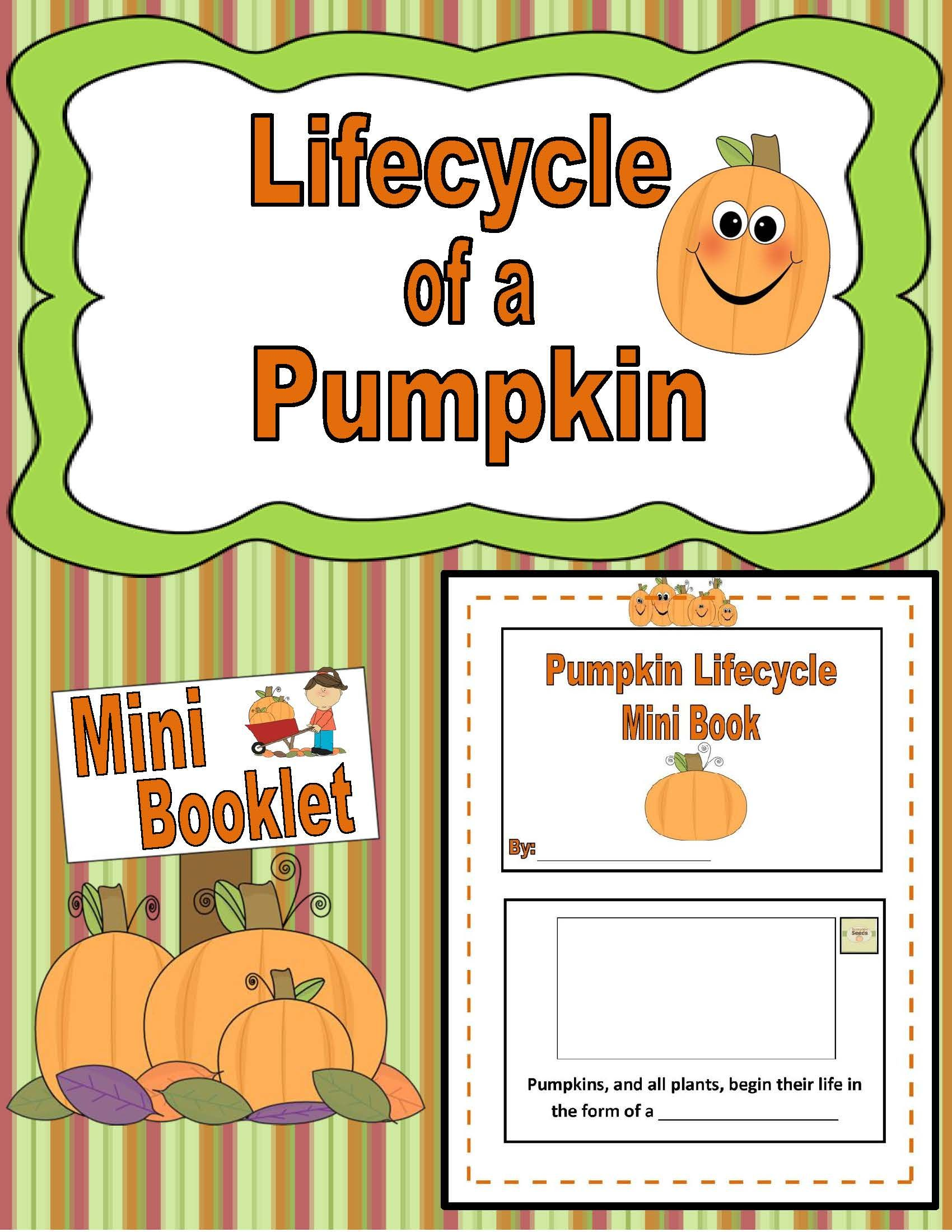 Publishers Tech Girl Lifecycle Of A Pumpkin Mini