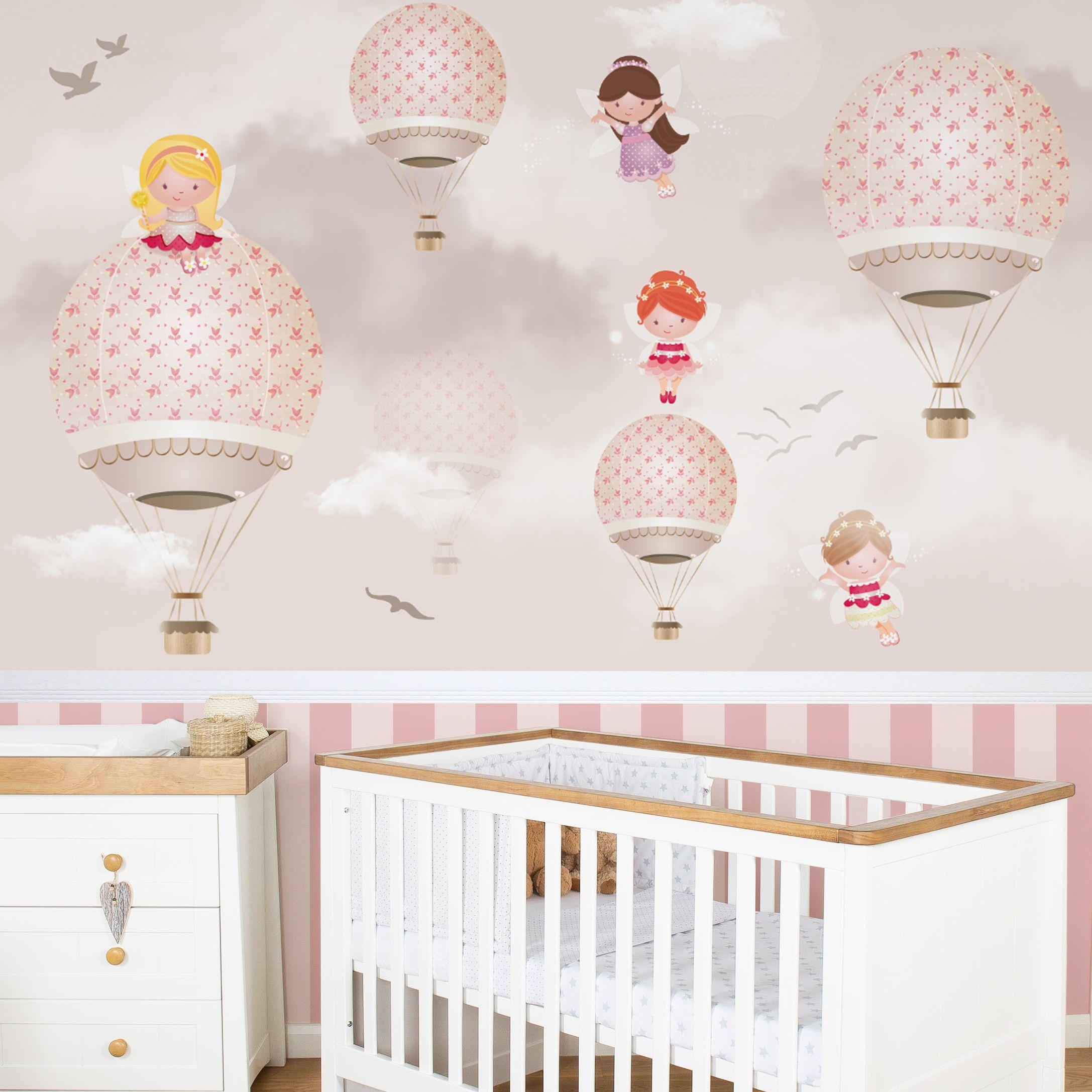 Nossa matria de decorao est ainda mais ldica e divertida que o  habitual. Vamos falar sobre o mgico quarto de beb com bales.