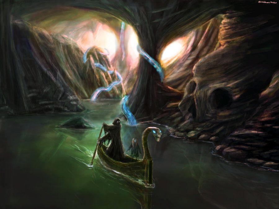 Древнегреческая река забвения