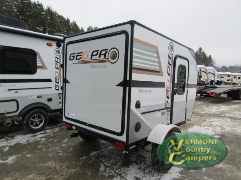 New 2017 Forest River RV Rockwood Geo Pro 12RK Travel