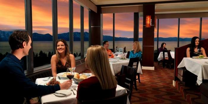 Harveys Lake Tahoe Dining Casual 19 Kitchen Bar 1 Located On The 19th Floor Of Harvey S Ate There Many Times And View Is Awesome