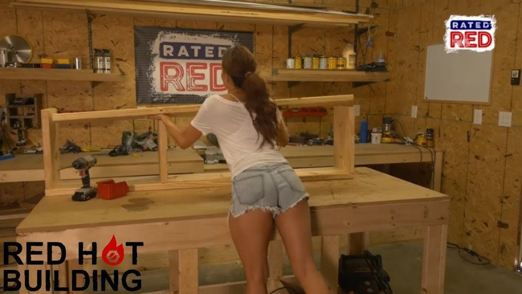 On This Week S Episode Of Red Hot Building Amanda Mertz Shows You How To Build An Entryway Bench It S Pretty Awesome Place Seating Storage Woodworking Stay up to date on amanda mertz and track amanda mertz in pictures and the press. red hot building amanda mertz shows