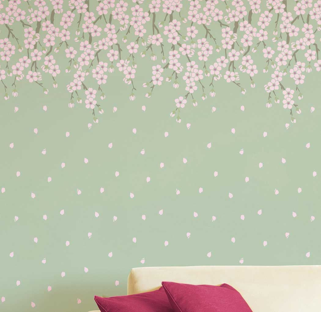 Wall Stencil Designs wall stencil ideas | home interior, wall stencils: the way of
