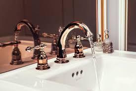 Kohler Rose Gold Finish For A Bathroom Faucet Gold Bathroom