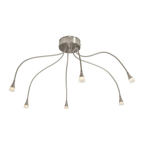 Piece For Reception IVED Ceiling Spotlight Nickelplated AED - Ikea kitchen lighting ceiling