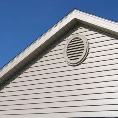 Gable Vents Around 25 Each Plus 75 Per Vent For Labor Can Lower Attic Temperatures About 10 Degrees A Ridge And Attic Ventilation Attic Vents Gable Vents