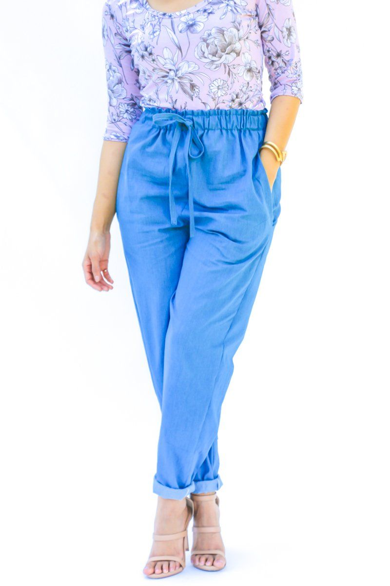 Luisa Trousers Pdf Pattern Sew Trousers Jeans Etc Pinterest