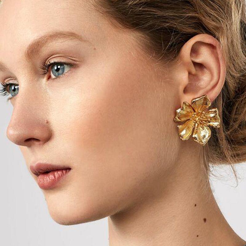 14++ Large stud earrings costume jewelry viral