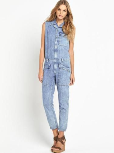 9c7810164896 Ralph-Lauren-Denim-Supply-Women-Jumpsuits-Coverall-Jeans-Pants-Vintage -Washed