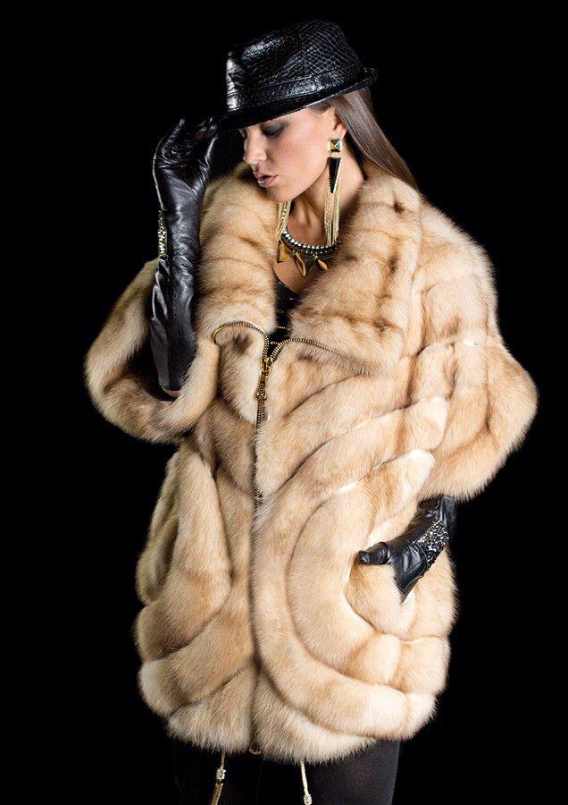 Bleached Russian Sable Fur Coat https://ru.pinterest.com/elistratovaelen/%D0%BC%D0%B5%D1%85/