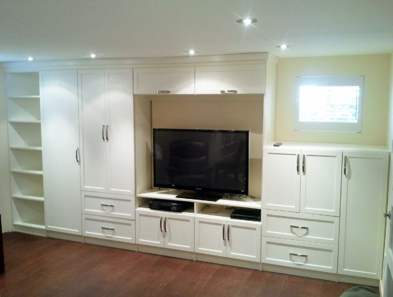 Custom Built Entertainment Units By Simplee Montreal
