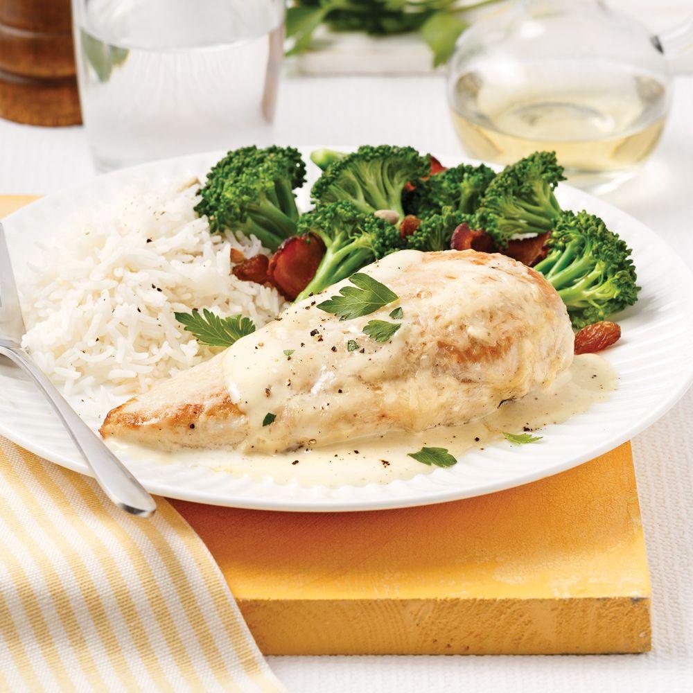 Laissez-vous séduire par cette recette de poulet ranch ultra facile à préparer grâce à la contribution d'un grand dépanneur en cuisine: la mijoteuse!