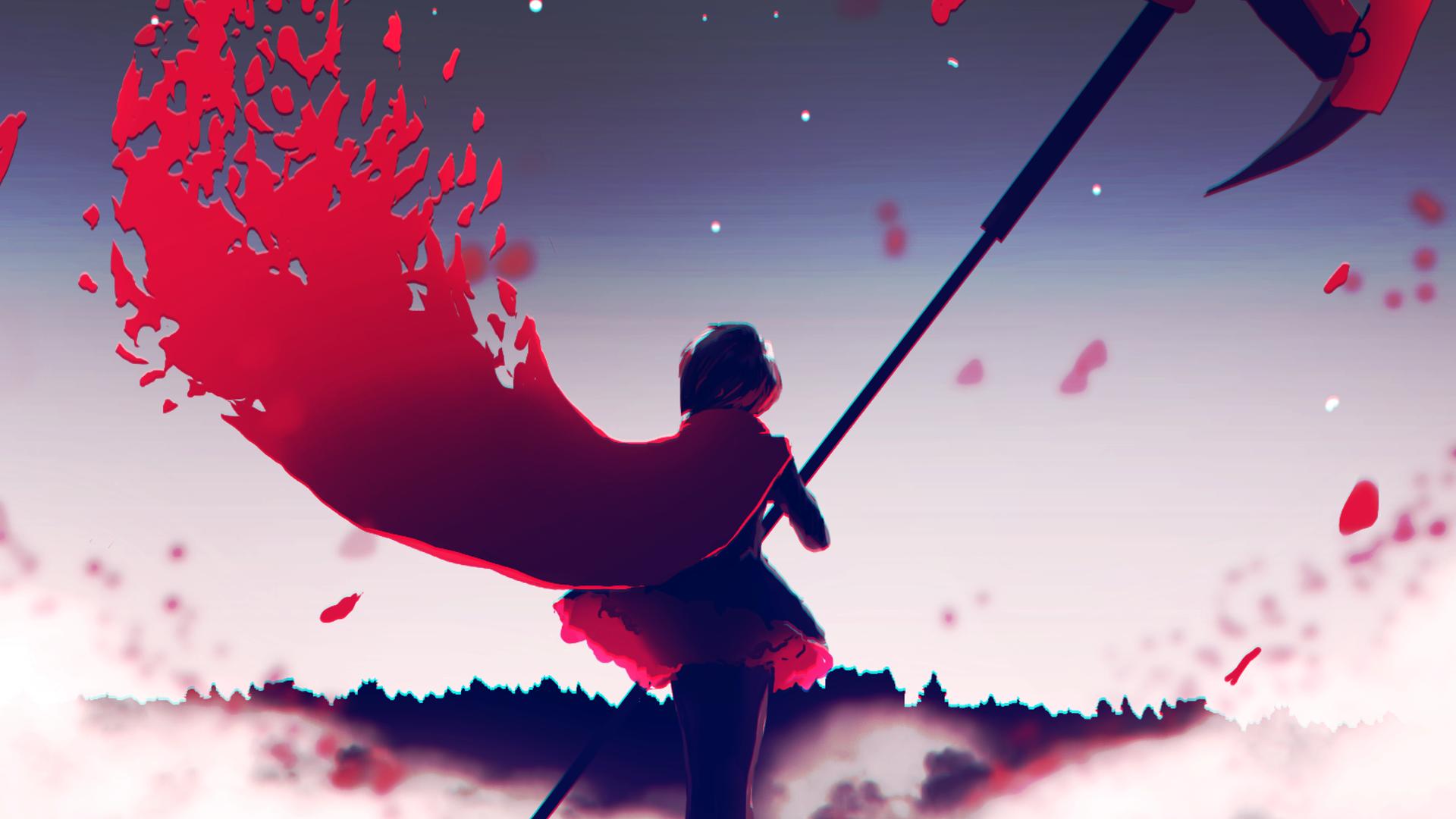 Anime Rwby Ruby Rose Rwby Wallpaper Rwby Rwby Wallpaper Rose Wallpaper