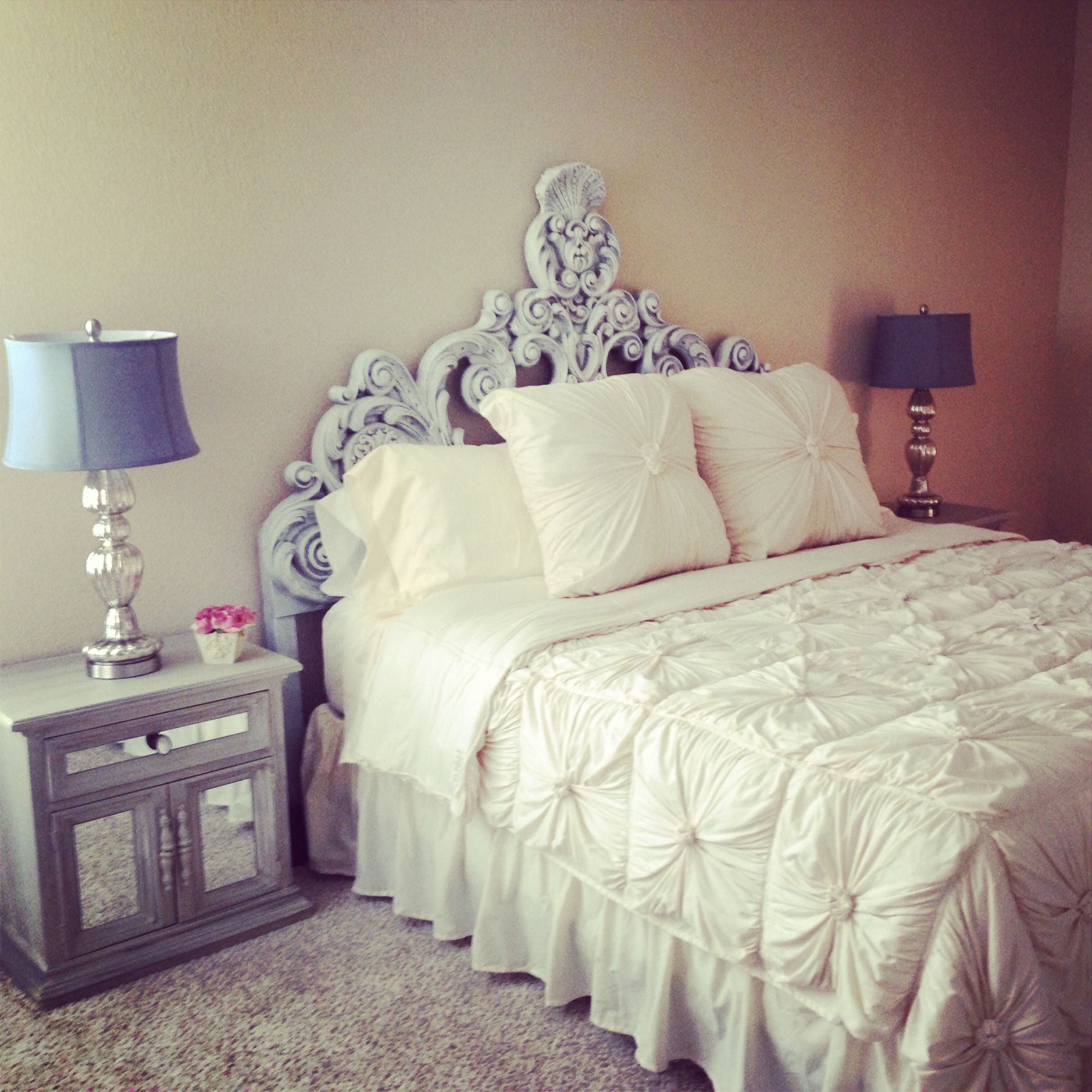 Shabby Chic Teen Bedroom: Shabby Chic Bedroom #anthropologie Rosette Bedding And