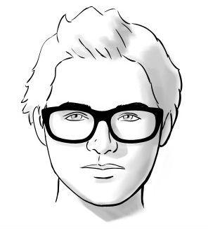 8a58b36abbcb5 Homem No Espelho - Óculos e formatos de rosto - Redondo