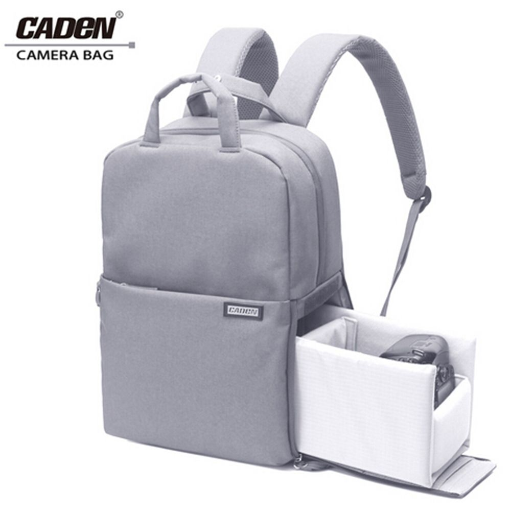 Caden Dslr Camera Bag For Canon Waterproof Mochila Fotografia Backpack Women  Men Casual Fashion Photo Backpack For Canon