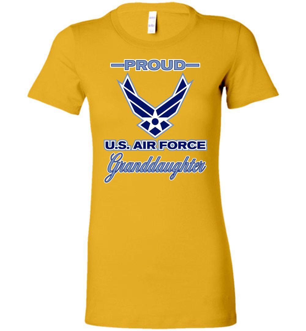 Proud U.S. Air Force Granddaughter Women's T-Shirt