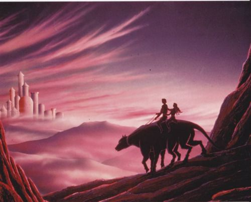 Artist Morris Scott Dollens take onEdgar Rice Burroughs Barsoom