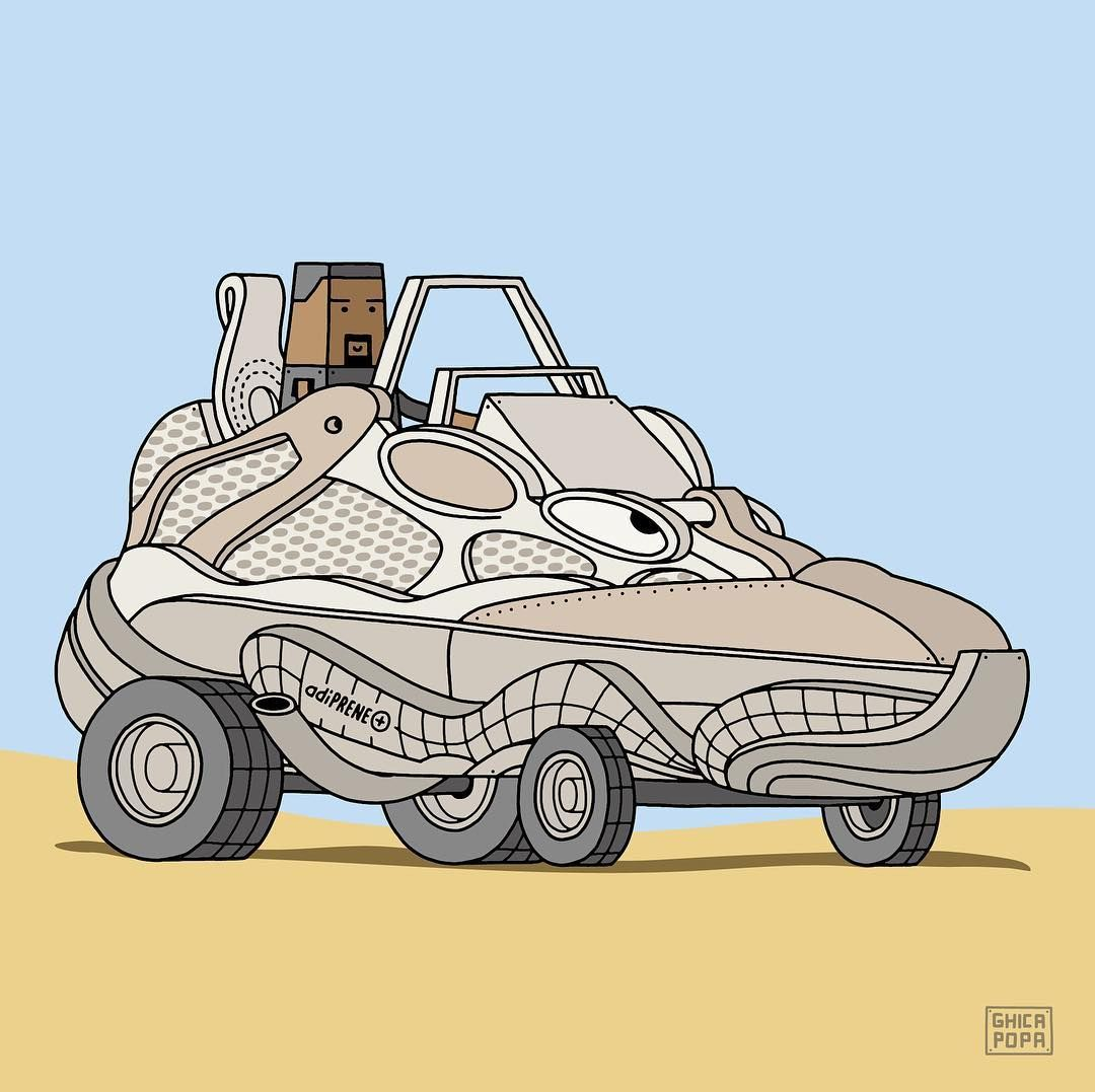 470d0a2d YEEZY Desert Rat 500 as a Vehicle | i fucks with this | Yeezy ...