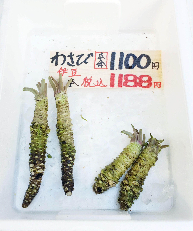 fresh wasabi! #bgtravel